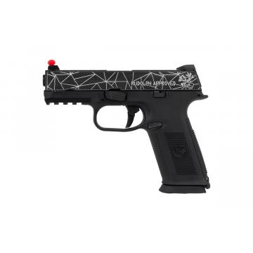 FN FNS-9 Gas BAX 6mm metal blow back 22BB's E = 0.8 J. max / C24