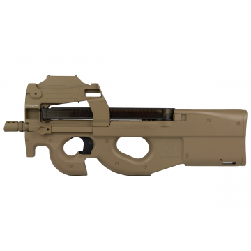 FN P90 FDE AEG WITH RED DOT ABS 70 bbs