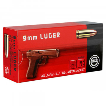 GECO 9mm FMJ 124 grn 50 stuks