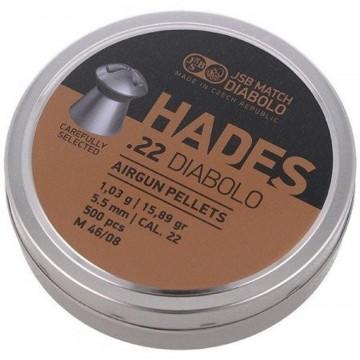 JSB Diabolo Hades .22 / 5.5 mm 500 stuks